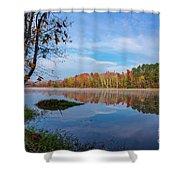 Mayor's Pond, Autumn, #1 Shower Curtain
