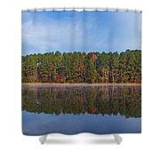 Mayor's Pond, Autumn, #3 Shower Curtain