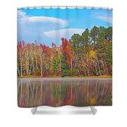 Mayor's Pond, Autumn, #4 Shower Curtain