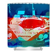 Mazda Le Mans Shower Curtain
