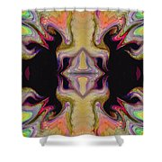 Maze Of Colors Shower Curtain