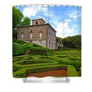Mazed Garden Shower Curtain