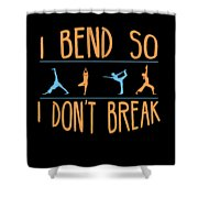Mb 1142 Fitness Bend Dont Break 500 Shower Curtain