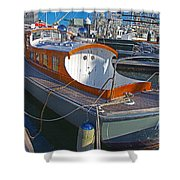 Mb 172 Epic Lass In Darling Harbour Shower Curtain