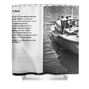 Mb 172 Epic Lass Information Shower Curtain