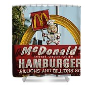 Mc Donalds Shower Curtain