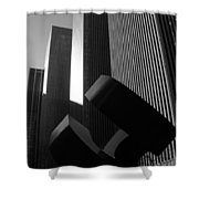 Mc Graw Hill Building Shower Curtain