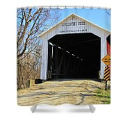 Mcallister's Bridge Shower Curtain