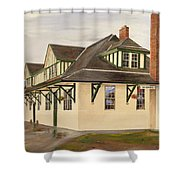 Mcbride Station Shower Curtain