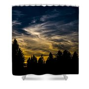 Mccall Sky Night Shower Curtain