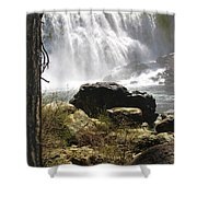 Mccloud Middle Falls Shower Curtain