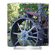 Mccormic Deering Farm Tractor   # Shower Curtain