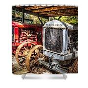 Mccormick Deering Tractors II Shower Curtain
