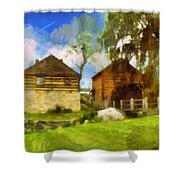 Mccormick Mill Shower Curtain