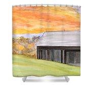 Mccready Farm Shower Curtain