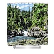 Mcdonald Creek 1 Shower Curtain