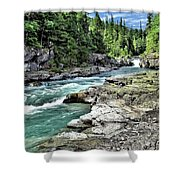 Mcdonald Creek 2 Shower Curtain