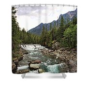 Mcdonald Falls - Glacier Shower Curtain