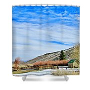 Mcgee Creek Pack Station Shower Curtain