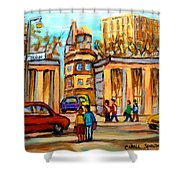 Mcgill Roddick Gates Shower Curtain