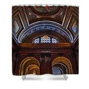 Mcgraw Rotunda Nypl Shower Curtain