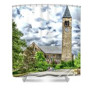 Mcgraw Tower Cornell University Ithaca New York Pa 10 Shower Curtain