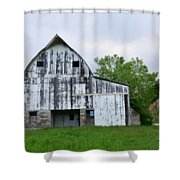 Mcgregor Iowa Barn Shower Curtain