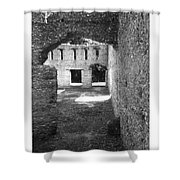 Mcintosh Sugar Mill Tabby Ruins Arch Shower Curtain