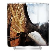 Mckays Dam Waterjet Shower Curtain