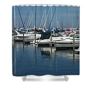 Mckinley Marina 2 Shower Curtain