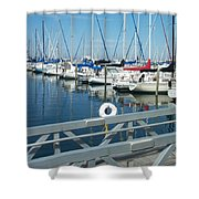 Mckinley Marina 4 Shower Curtain