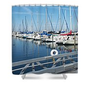 Mckinley Marina 5 Shower Curtain