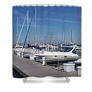 Mckinley Marina 6 Shower Curtain