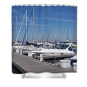 Mckinley Marina 6 Shower Curtain