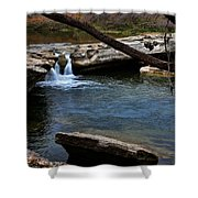 Mckinney Falls State Park-upper Falls 6 Shower Curtain