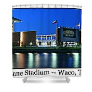 Mclane Stadium Print Shower Curtain