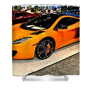 Mclaren 12c Coupe Shower Curtain