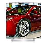 Mclaren 12c Spider Number 1 Shower Curtain
