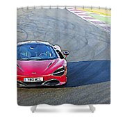 Mclaren 720s Shower Curtain
