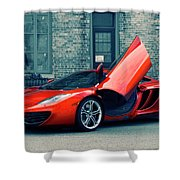 Mclaren Mp4-12c Shower Curtain