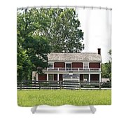 Mclean House Appomattox Court House Virginia Shower Curtain