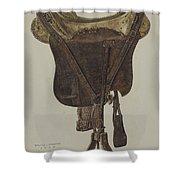 Mclellan Saddle Shower Curtain