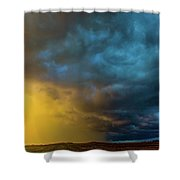 Mcluvn Nebraska Thunderstorms 049 Shower Curtain