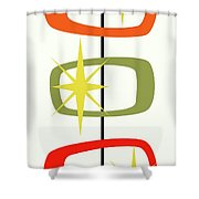 Mcm Shapes 1 Shower Curtain