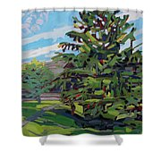 Mcmichael Spruce Shower Curtain