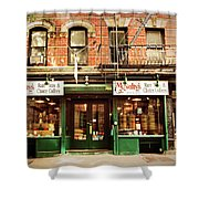 Mcnulty's Tea And Coffee Vintage Shower Curtain