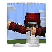 Mcpe Shower Curtain