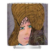Me And My Silky Terrier Shower Curtain