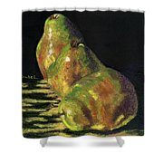 Me First Pears Shower Curtain