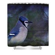Me Minus You - Blue Shower Curtain
